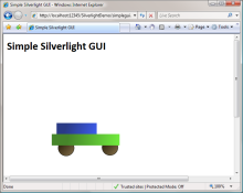 Simple Silverlight App in PHP